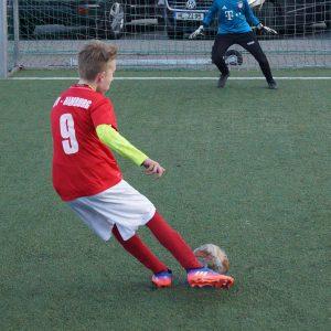 Sichtungstraining im Jugendfussball